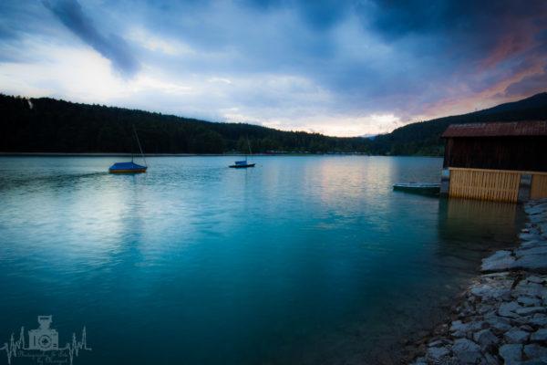 Walchensee am Abend