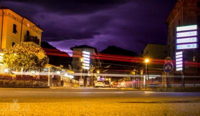 Riva del Garda bei Nacht